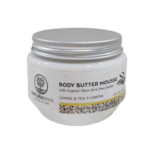 Body Butter Lemon And Tea Flowers 200ml`