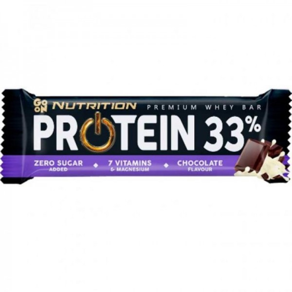 Go On Protein Bar 33% με Σοκολάτα