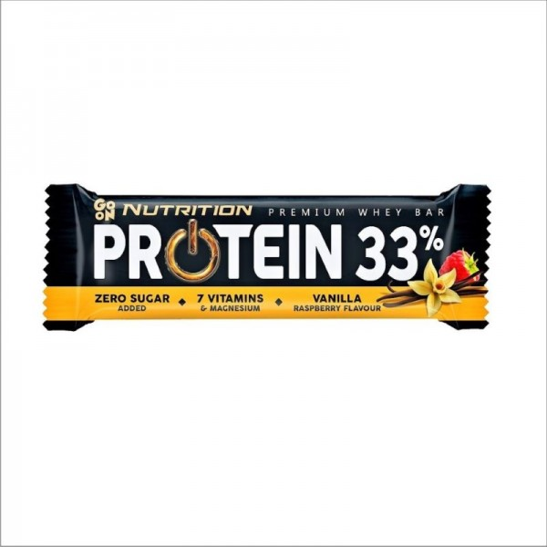 Go On Nutrition Protein 33% Vanilla & Rasberry 50gr